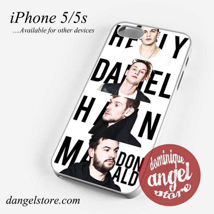 The 1975 personnel Phone case for iPhone 4/4s/5/5c/5s/6/6 plus