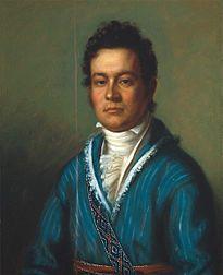 Cherokee leader, David Vann by Charles Bird King