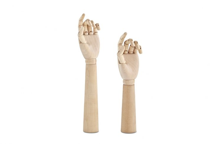 Wooden Hand Forearm