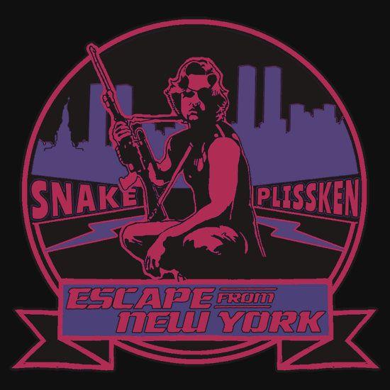 Snake Plissken (Escape from New York) Badge Colour 2