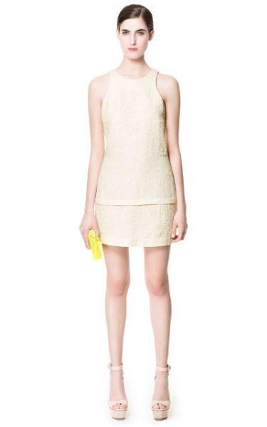 Zara abito corto 2014  #zara #abbigliamento #moda #clothes #primaveraestate2014 #primaveraestate #springsummer #springsummer2014 #moda2014