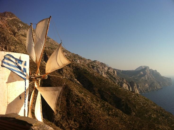 Olympos village on Karpathos island (Greece)... an awaken dream with my bro & my parents / July 2011