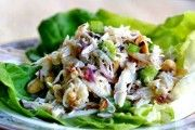 Crab Salad with Pear and Hazelnuts (photo)