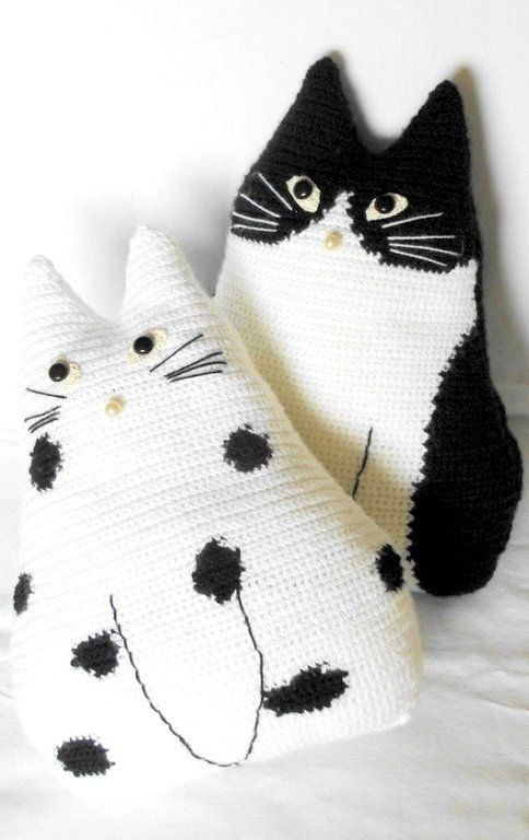 cat pillows..