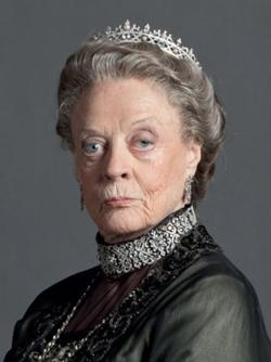 Downton Abbey: Violet Crawley  Dowager Countess of Grantham