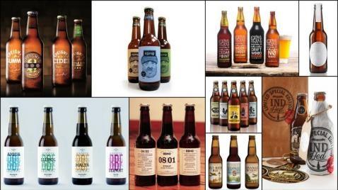 Las cervecerías artesanales son una fuente inagotable de creatividad. Además de la gran variedad tipos de cerveza y de ingredientes el diseño de sus envases son parte fundamental de su personalidad.