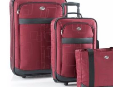American Tourister® 3-Piece Fashion Luggage Set $104.99  #BACK2CAMPUS