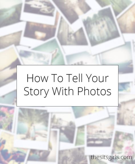 Learn how to tell a story using more than words. This tutorial on telling a story with pictures is a great way to expand your creativity.
