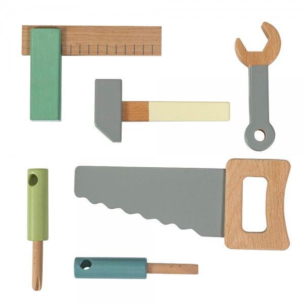 Sebra Holzwerkzeug 7 tlg.