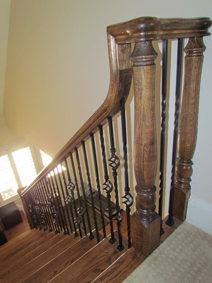 Best 89 Best Stair Railing Images On Pinterest Banisters 640 x 480