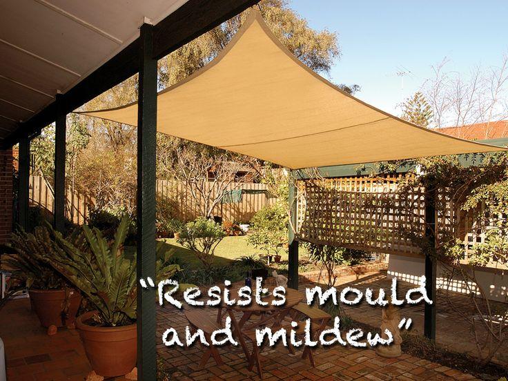 Backyard Tarp Ideas : Shade sails, Backyard patio and Outdoor living on Pinterest