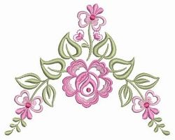 Dainty Roses 9 - 2 Sizes! | What's New | Machine Embroidery Designs | SWAKembroidery.com Ace Points Embroidery