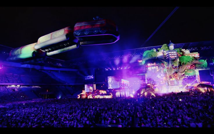 SEKAI NO OWARI「ムーンライトステーション」from『Twilight City at NISSAN STADIUM』  This is what I call a music festival