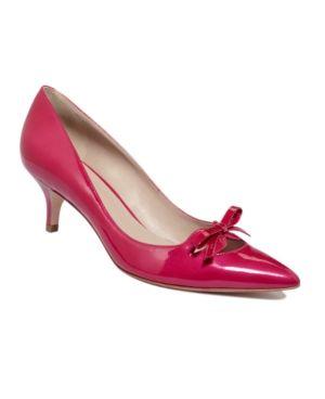 Joan & David Shoes, Gila Kitten Heel Pumps Women's Shoes