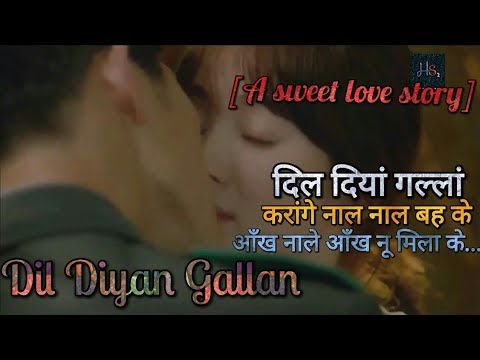 Korean mix Cute Love Story With Romantic Hindi Songs | dil