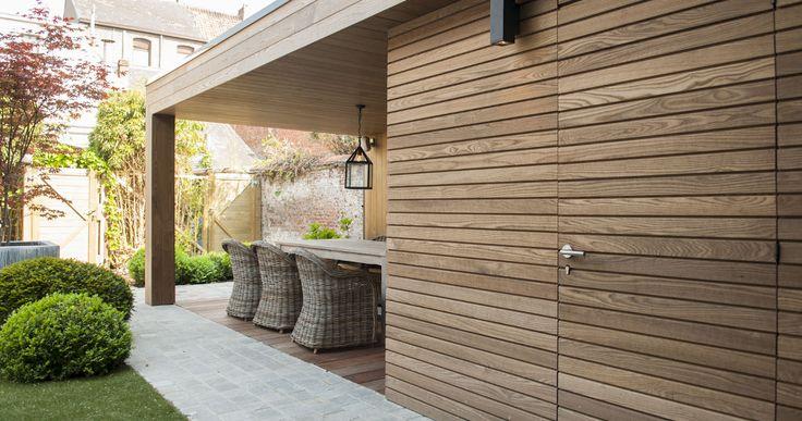 Gevelbekleding Thermo Hout - Tablazz Interieur- en exterieur parket