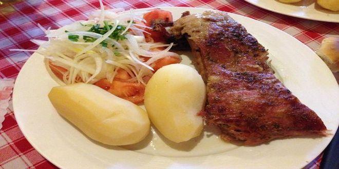 Costillar de Chancho a la Chilena, el sabor de nuestra Cocina Tradicional en estas Fiestas Patrias.