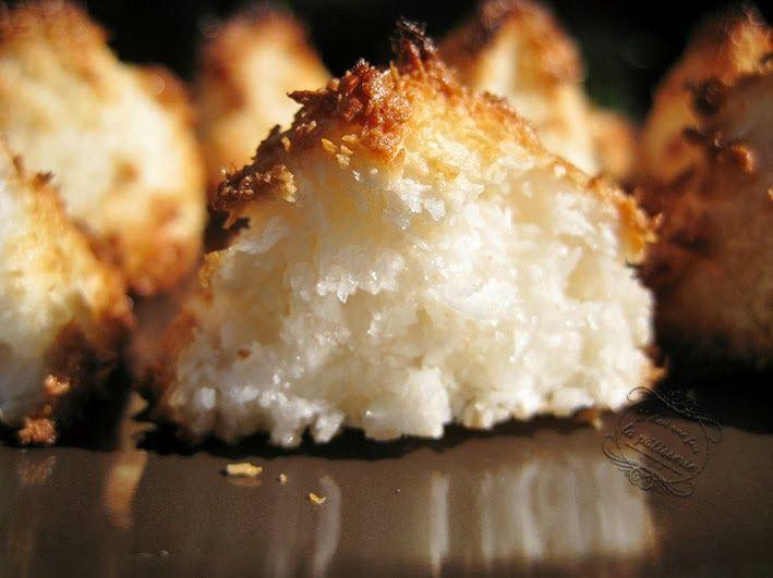 Recette des rochers noix de coco : Il était une fois la pâtisserie