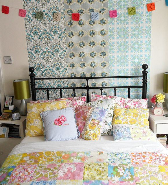 Granny chic goodness in the form of bedroom decor!