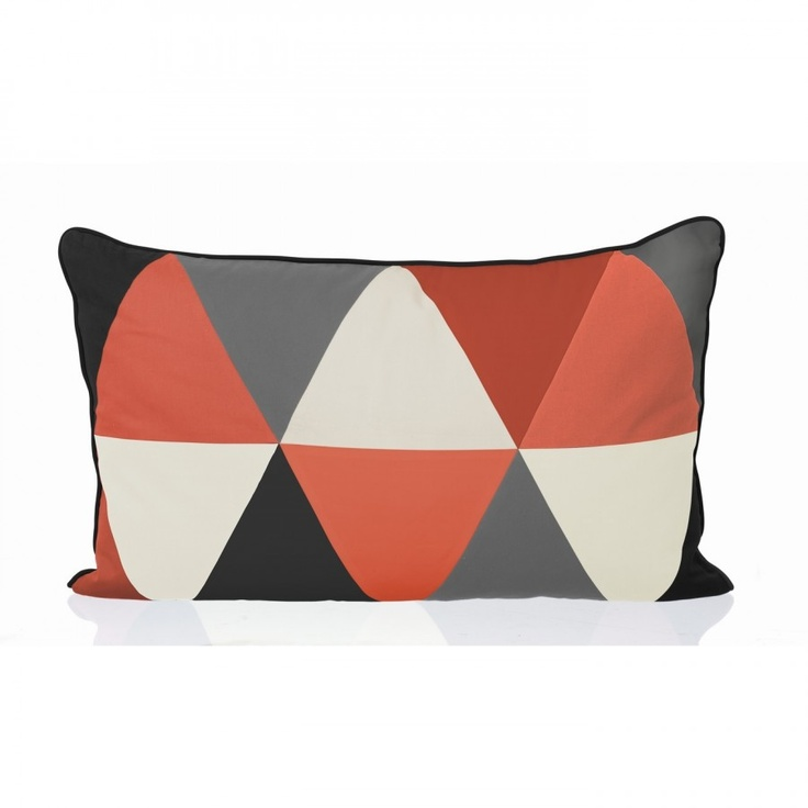 ferm LIVING Columbine Cushion in Coral - 7019
