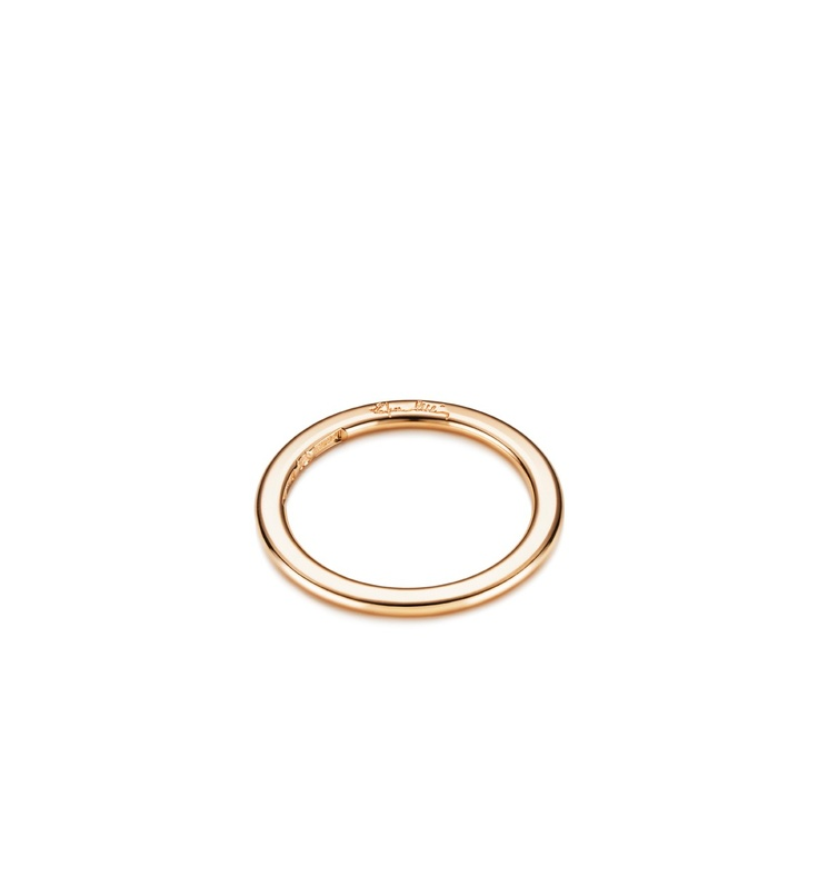 Efva Attling - Love Beads Band  $785 - Plain ring in white or red gold.