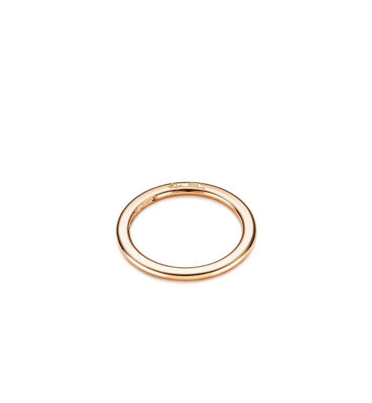 Efva Attling - Love Beads Band  $785 - Plain ring in white or red gold.