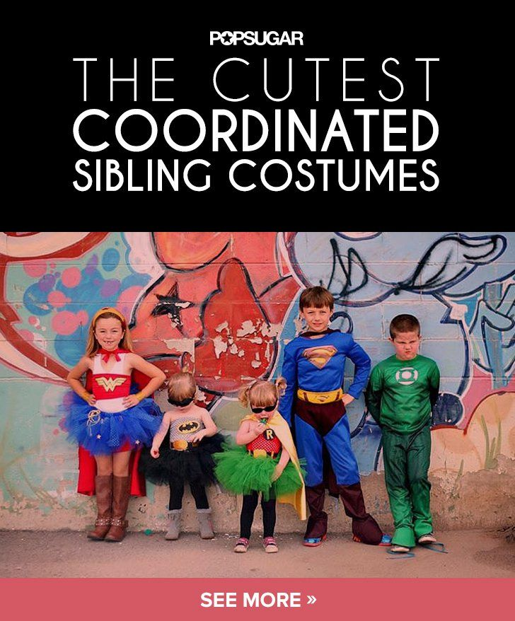 Pin for Later: Coordinated Halloween Costumes For Twins, Triplets, and Siblings
