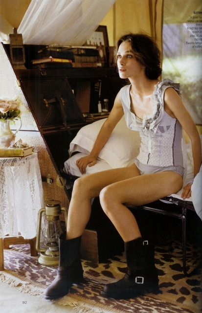 Keira Knightley for Vogue June 2007