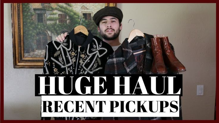 Huge Clothing Haul 2018 | Mens Fashion Haul and Try On - Vintage, Design...