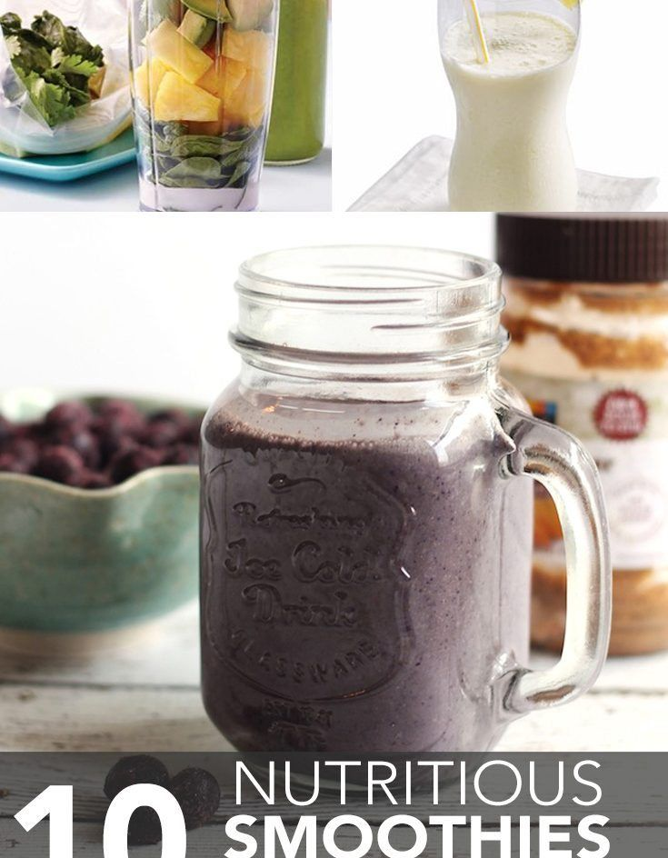 10 Nutritious Smoothies Under 250 Calories - Shared by Maggie