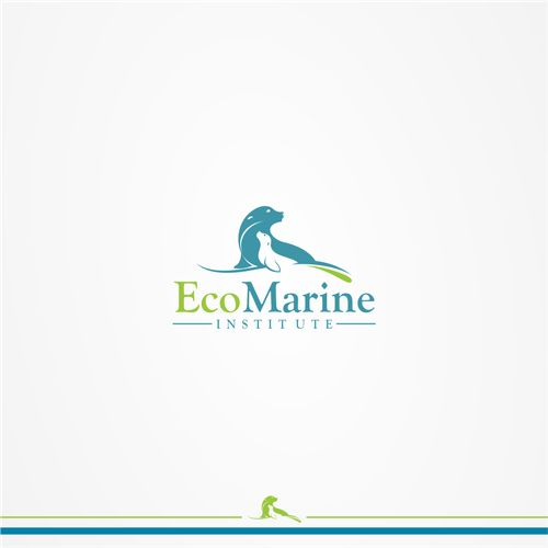 EcoMarine Institute - Logo and identity package for nonprofit organization focused on marine and environmental issues Nonprofit organization focused on marine and environmental research, conservation and education. See our website her...