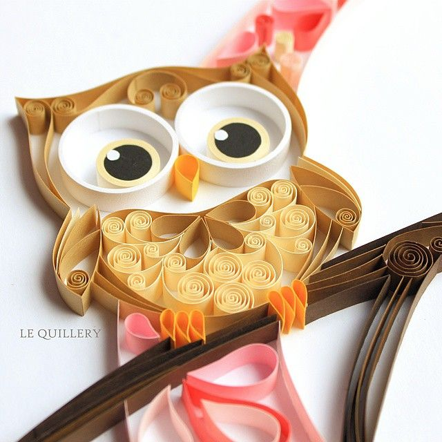 Close up shot of my latest project. Owls are so popular.