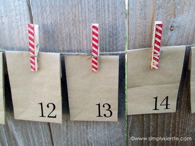 paper sack advent 3
