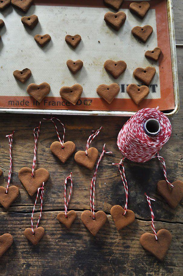 biscoitos de argila