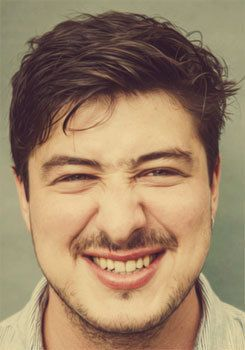 Marcus Mumford. Just look at that adorable face...