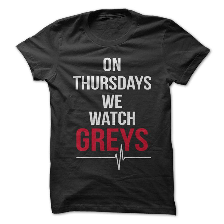 Obessed with Grey's Anatomy? TGIT? Then show everyone that you do with this awesome shirt!