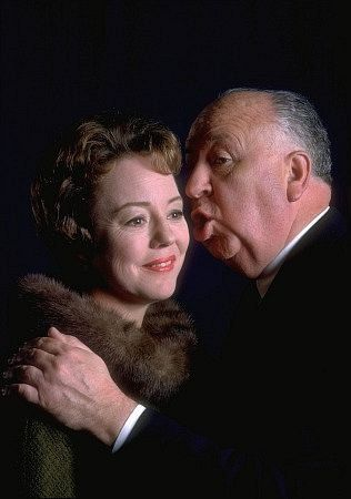 """Alfred Hitchcock Hour,"" Patricia Hitchcock O'Connell and her father, Alfred Hitchcock (1962)."