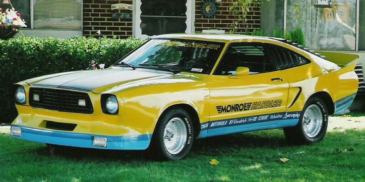 The Monroe Handler Mustang Cobra II.