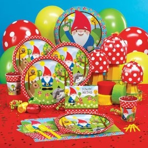 Woodland Gnome Party Pack Add-On for 8Parties Supplies, Classroom Theme, Birthday Theme, Birthday Parties, Party Supplies, Gnomes Parties, Parties Ideas, 2Nd Birthday, Woodland Gnomes