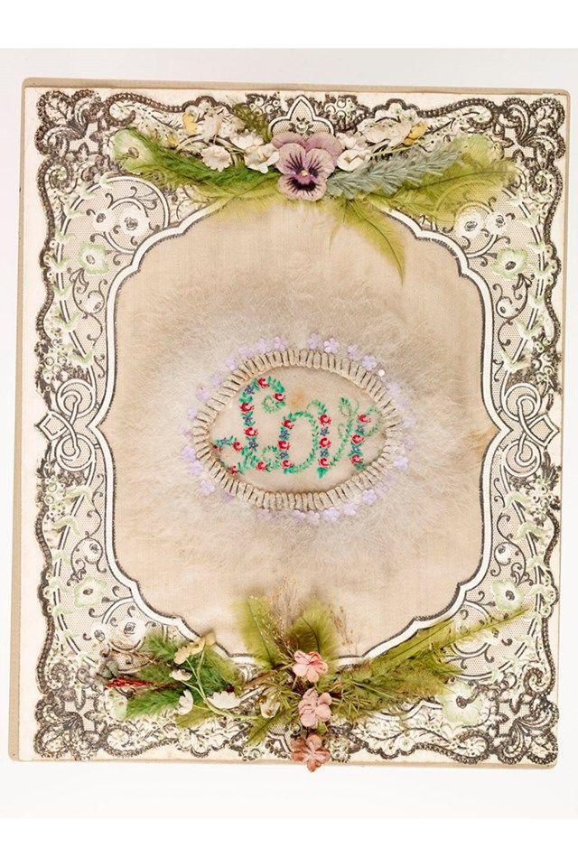 День Святого Валентина старинные карты | Валентина (сайт houseandgarden.ко.Великобритания)
