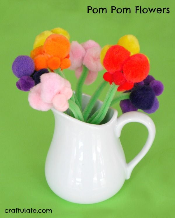 446 best images about nature crafts and activities on for Cute pom pom crafts