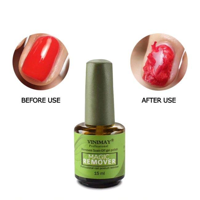 Magic Soak Off Gel Polish Remover Gel Remover Gel Nail Polish Remover Nail Polish