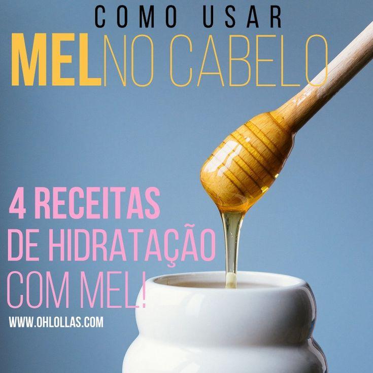 Como usar mel no cabelo? 4 receitas caseiras de hidratação com mel