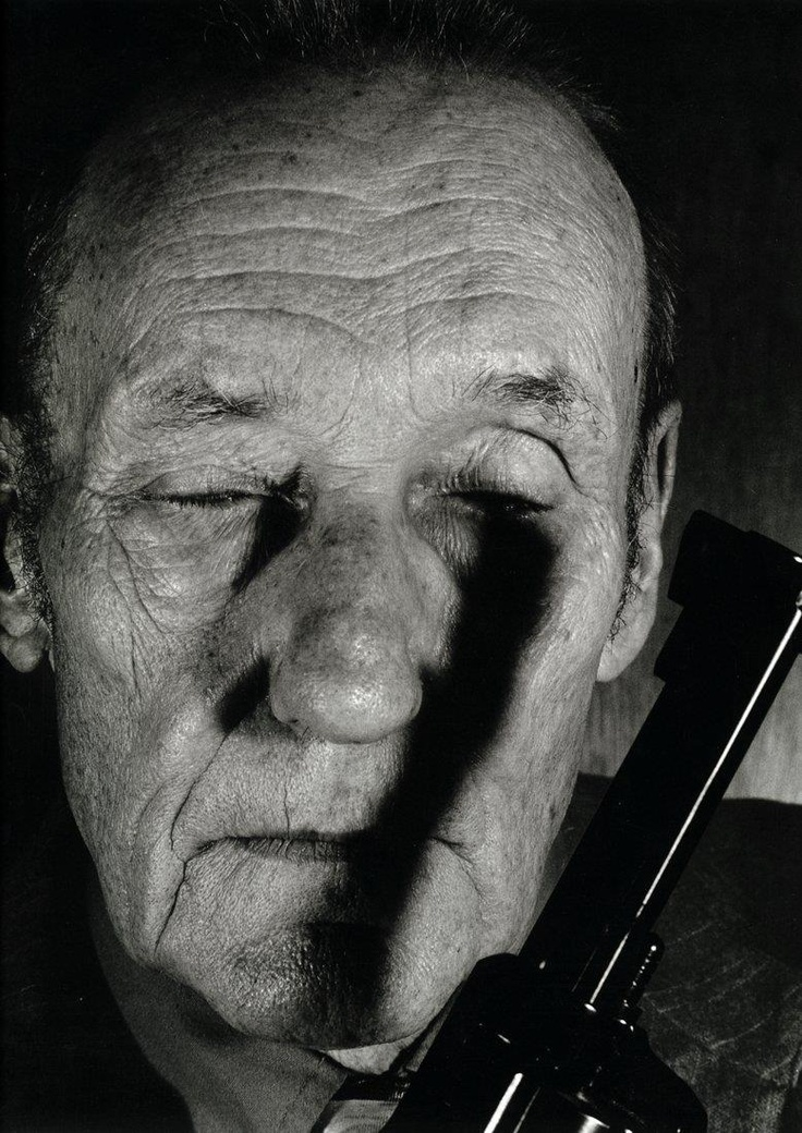 William S. Borroughs by Helnwein