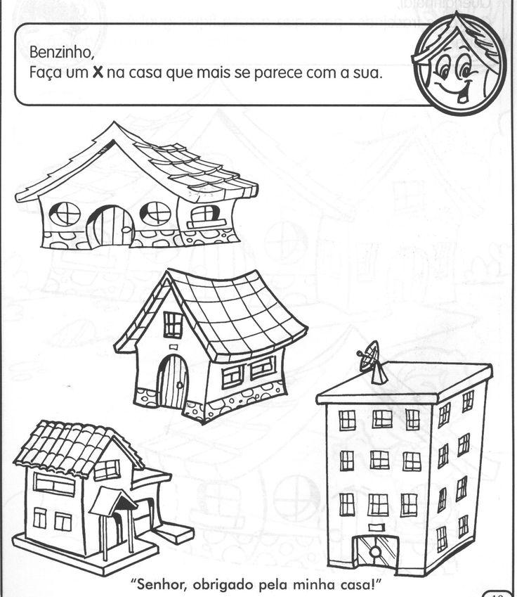 Projeto Moradia:   Eixo de trabalho predominante: Levar o aluno a conhecer diferentes tipos de moradia,  elacionando-as aos materiais de...