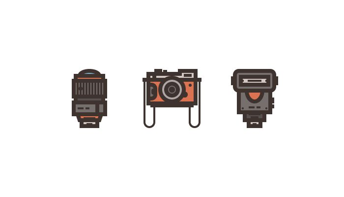 Photography iconography