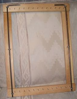 Great detailed instructions for rug making frame! Wyoming Breezes: Being Framed