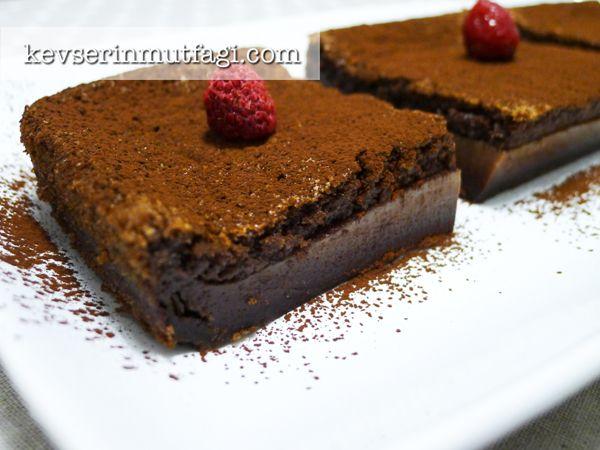 Kakaolu Sihirli Kek Tarifi - Kevser'in Mutfağı - Yemek Tarifleri