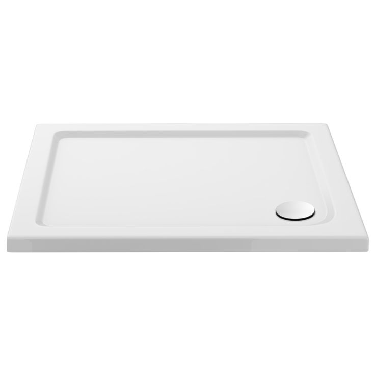 The Pearlstone Rectangular Shower Tray comes in plenty of sizes and will complete your enclosure. Now in stock online at Victorian Plumbing.co.uk.