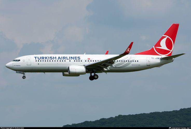 TC-JVM Turkish Airlines Boeing 737-8F2(WL)